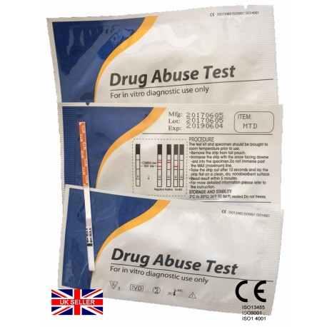 1x Methadone (MTD) Rapid Urine Test Strip